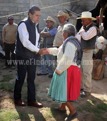 Campo michoacano debe ser prioritario para México: Silvano