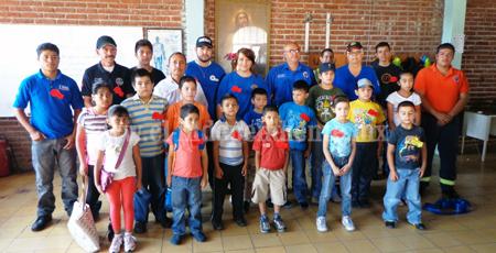 Comienzan clases en la Escuela de Bomberitos de Los Reyes