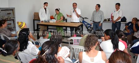 Dirección de salud de Sahuayo realiza programa de cuidado bucal