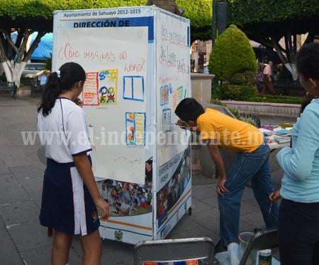El para libros Sahuayo celebró el día mundial del libro infantil