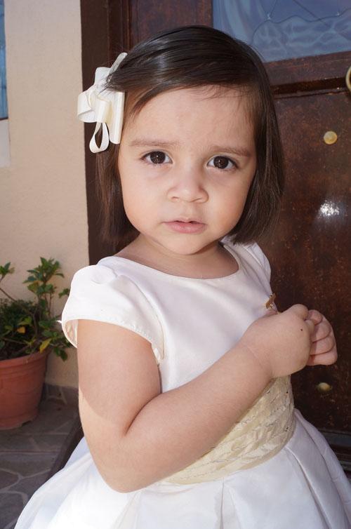 Fernanda es nueva hija de Dios