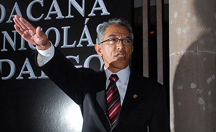 Propone Congreso al rector de la UMSNH como gobernador