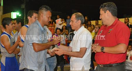 Sahuayo campeón estatal de basquetbol sub 21