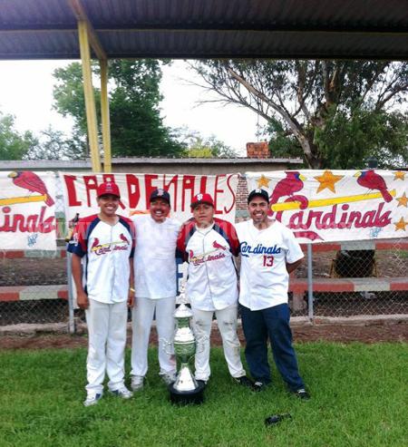 Cardenales nuevo Campeón en el Beisbol Regional