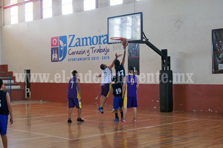 BSB ganó a Ario en la Liga zamorana de Basquetbol.
