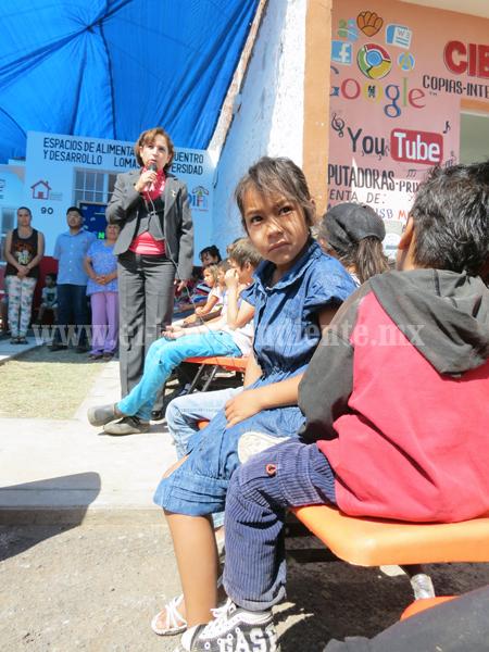 Busca DIF Jacona abatir el grave problema de desnutrición infantil