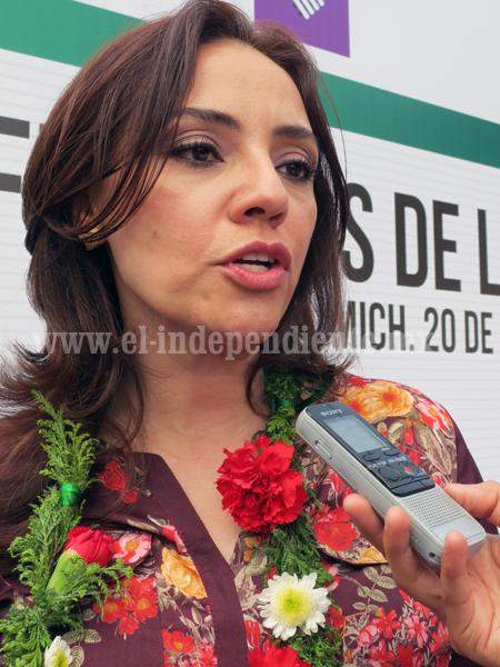 Diputada Adriana Hernández busca mejorar atención médica a grupos vulnerables
