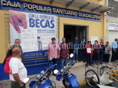 Conflicto laboral provoca queja de socios en caja popular Santuario Guadalupano