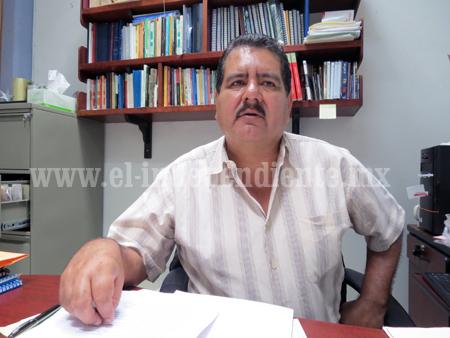 Nombran a Rafael Herrera Álvarez, director electo de la UPN 162