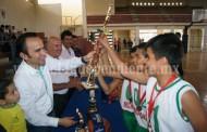 Premiación del Primer Campeonato de la Liga Municipal de Basquetbol
