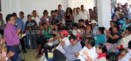 Realizó Silvano gira por Michoacán para acercarse a los ciudadanos