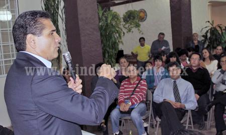 Apremiante el rescate económico en pro de empresarios michoacanos: Silvano