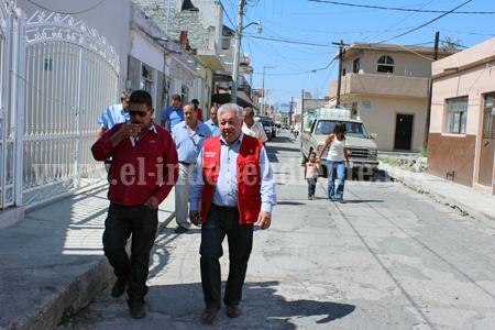 Arrancan acciones de rehabilitación en calles del centro de Venustiano Carranza