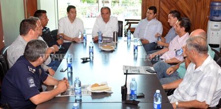 Se reúne Cámara de Comercio con el presidente municipal de Sahuayo