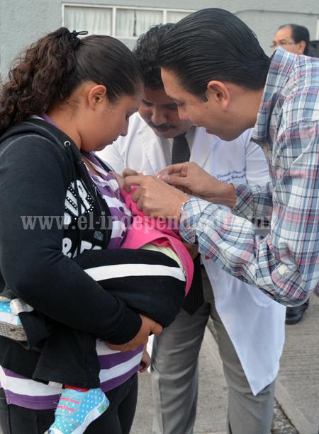 En Sahuayo se llevó a cabo la Segunda Semana Nacional de Vacunación