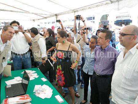 Dependencias federales y estatales realizaron jornada en Los Reyes