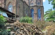 Retirarán desperdicios tirados por Padre Ventura a espaldas del Santuario