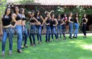 Finalistas para Reina de Fiestas patrias realizan sesión fotográfica