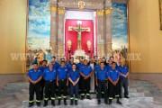 Celebran a Bomberos Municipales de Los Reyes en su día