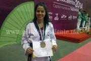 Histórico Triunfo para Zamora en Tae Kwon Do conseguido por Luisa Georgina Valencia Sandoval