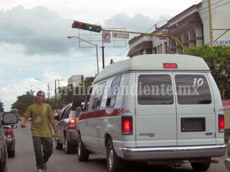 Persiste el pirataje en transportistas de Sahuayo