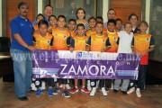 Abanderó Alcaldesa a Selección Zamora Sub 11