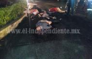 Ejecutan a seis hombres en Uruapan; hay un sobreviviente