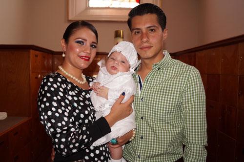 Paulo recibe el bautismo