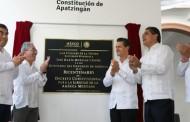 Apatzingán, con todo el respaldo del gobierno: Peña Nieto
