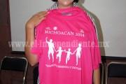 """Presentaron el evento """"Caminado, Corriendo y Trotando por Michoacán"""""""