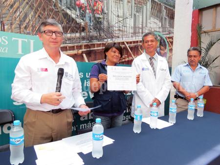 Benéfico declarar libre de humo de tabaco edificios públicos: Jurisdicción Sanitaria