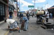 Vecinos de la 20 de Noviembre piden calle alterna para desfogar tráfico