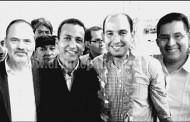 Toño Salas y Gustavo Madero acudieron a evento en Morelia