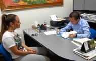 Toño Salas apoya participación de atleta reyense en torneo internacional