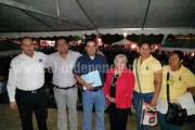 Acude César Palafox a celebración en La Independencia