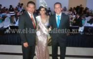 Toño Salas acudió al baile de coronación del Tec