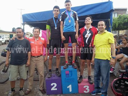 Ciclismo de Montaña tuvo buena participación en la Olimpiada Municipal