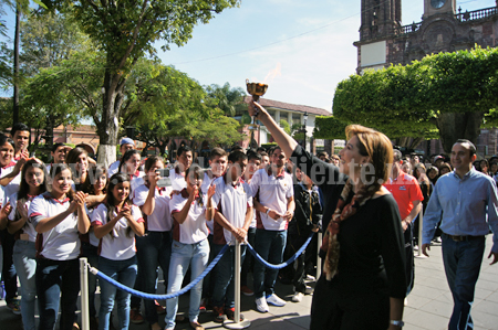Quedó inaugurada la Olimpiada Municipal Zamora 2014