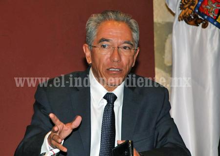 Recursos federales, mayores  a la propuesta solicitada para  2015; celebra Salvador Jara