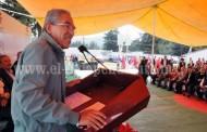Ofrece Salvador Jara apoyo para detonar el desarrollo de la región oriente de Michoacán