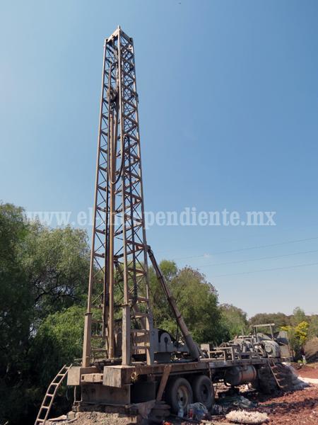 Módulo de Riego 1 declaró veda de pozos de agua en la región Zamora
