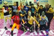 Escuela de lucha libre invita a tomar parte en el Juguetón a favor de los niños zamoranos
