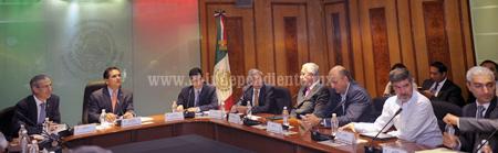 Coordina Silvano trabajos entre empresarios michoacanos y legisladores federales