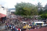 Toño Salas encabezó desfile del 20 de Noviembre