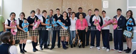 Alumnos de la escuela López Rayón recibieron taller de sexualidad responsable