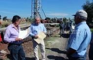En marcha, nueva perforación para dotación de agua potable en Cuatro Esquinas