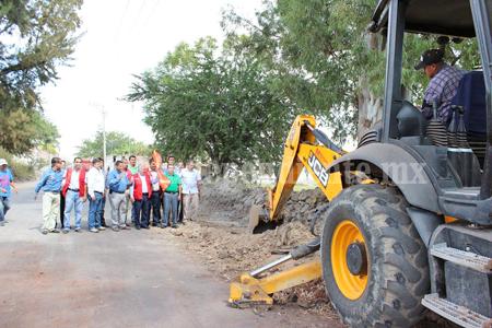 Construcción de andador La Sávila, obra de gran importancia para Sahuayo