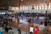 Más de 200 taekwondoines vieron acción en la competencia Olímpica local