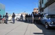 Tensión en Sahuayo entre elementos de Fuerza Rural y Fuerza Ciudadana