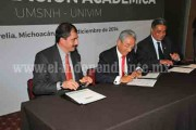 Universidad virtual y UMSNH firman convenio para llevar educación superior a todo el estado